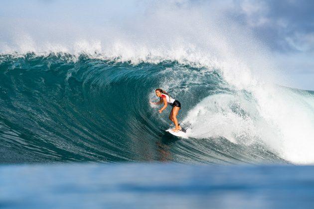 Bettylou Sakura Johnson, Honolua Bay, Maui, Havaí. Foto: WSL / Dayanidhi Das.
