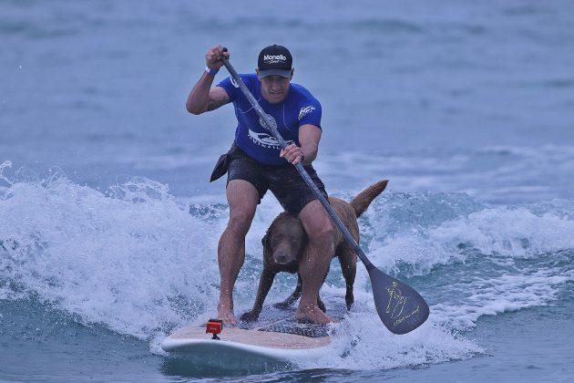 Bono Surf Dog, Quiksilver Estadual 2020, Camburi, São Sebastião (SP). Foto: Munir El Hage.
