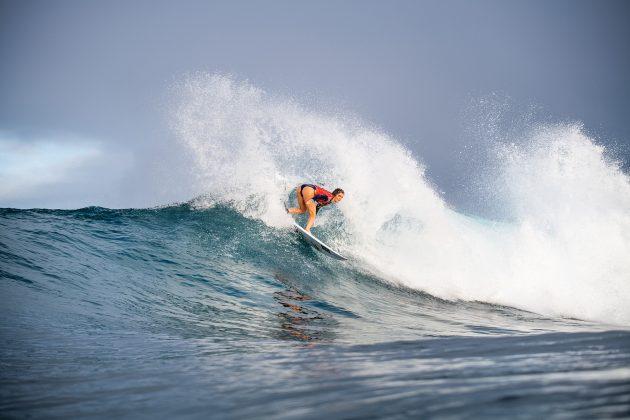 Caroline Marks, Honolua Bay, Maui, Havaí. Foto: WSL / Dayanidhi Das.