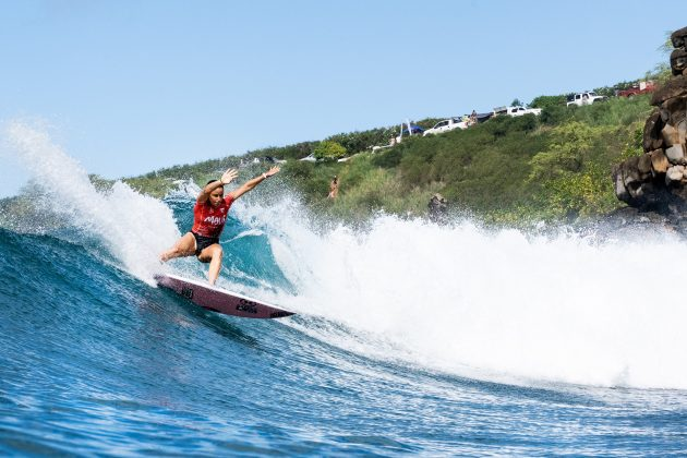 Johanne Defay, Honolua Bay, Maui, Havaí. Foto: WSL / Keoki.