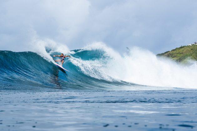 Keely Andrew, Honolua Bay, Maui, Havaí. Foto: WSL / Keoki.