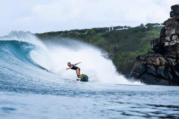 Sage Erickson, Honolua Bay, Maui, Havaí. Foto: WSL / Keoki.