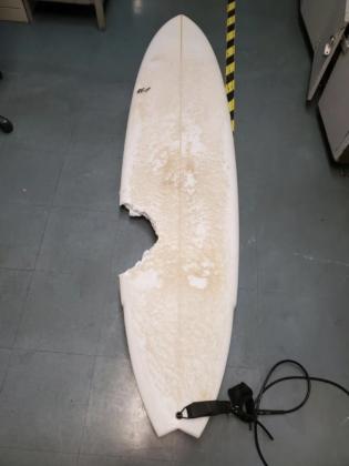 Ataque de tubarão em Honolua Bay, Maui. Foto: Reprodução.