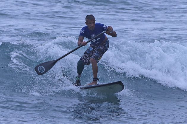 Surfe Adaptado, Quiksilver Estadual 2020, Camburi, São Sebastião (SP). Foto: Munir El Hage.