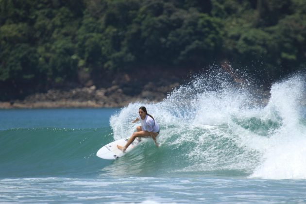 Kiany Hyakutake, Praia do Campeche, Florianópolis (SC). Foto: Arquivo pessoal.
