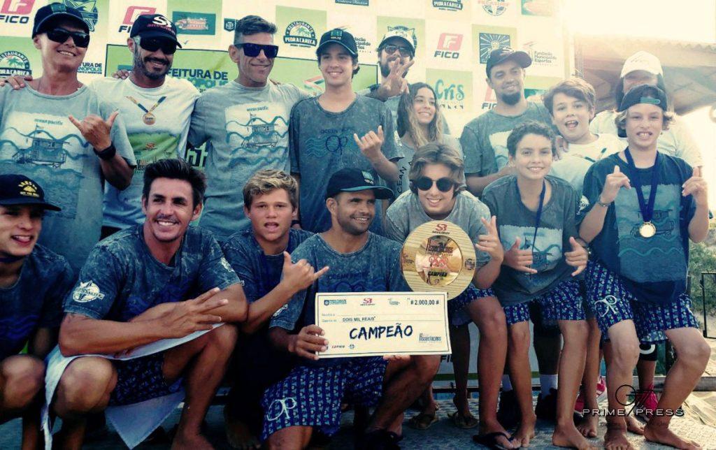 Equipe da ASJ durante o Interassociações SC em 2019. Foi o sexto título conquistado pela entidade na história do evento.