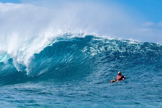 Sage Erickson, Billabong Pipe Masters 2020, North Shore de Oahu, Havaí. Foto: WSL / Keoki.