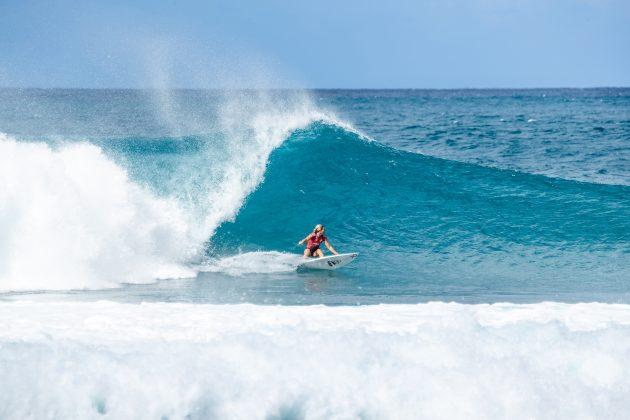 Sage Erickson, Billabong Pipe Masters 2020, North Shore de Oahu, Havaí. Foto: WSL / Brent Bielmann.