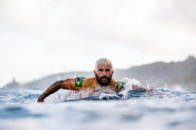 Italo Ferreira, Billabong Pipe Masters 2020, North Shore de Oahu, Havaí. Foto: WSL / Brent Bielmann.