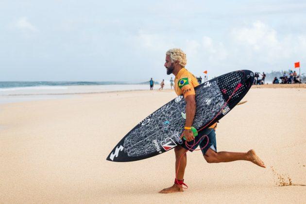 Italo Ferreira, Billabong Pipe Masters 2020, North Shore de Oahu, Havaí. Foto: WSL / Heff.