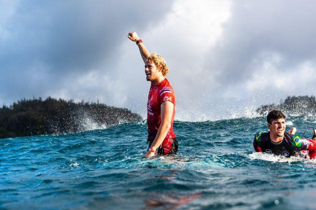 John John Florence, Billabong Pipe Masters 2020, North Shore de Oahu, Havaí. Foto: WSL / Heff.