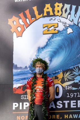 John John Florence, Billabong Pipe Masters 2020, North Shore de Oahu, Havaí. Foto: WSL / Keoki.