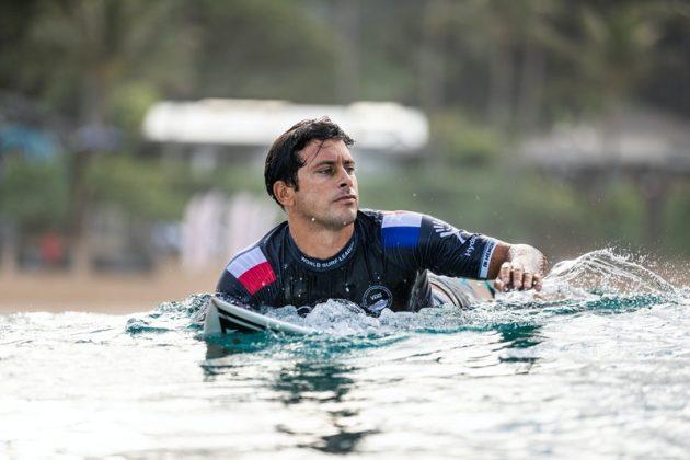 Jeremy Flores, Billabong Pipe Masters 2020, North Shore de Oahu, Havaí. Foto: WSL / Brent Bielmann.