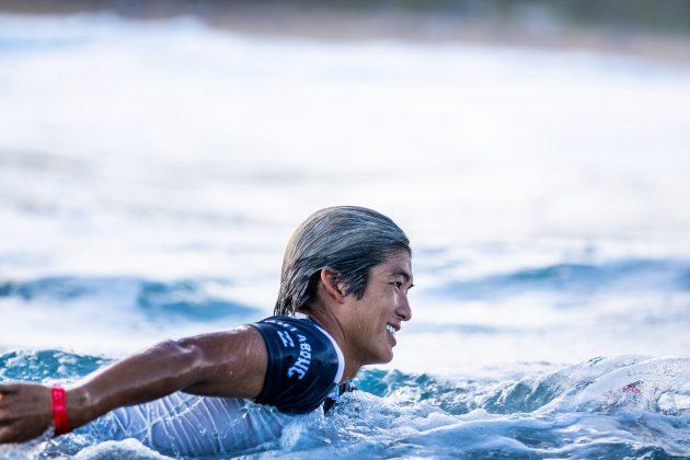 Kanoa Igarashi, Billabong Pipe Masters 2020, North Shore de Oahu, Havaí. Foto: WSL / Brent Bielmann.