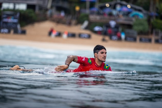 Gabriel Medina, Billabong Pipe Masters 2020, North Shore de Oahu, Havaí. Foto: WSL / Brent Bielmann.