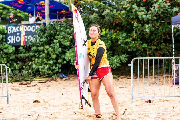 Carissa Moore, Billabong Pipe Masters 2020, North Shore de Oahu, Havaí. Foto: WSL / Brent Bielmann.