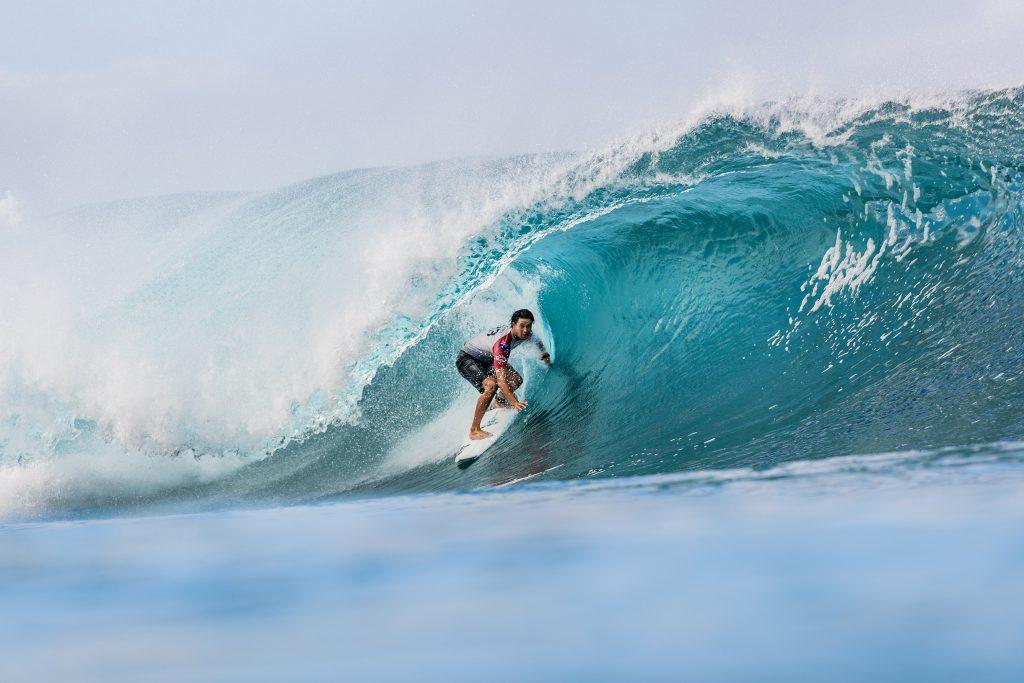 Surfista espera inspirar jovens japoneses a chegarem à elite do surfe.