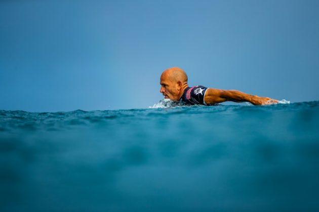 Kelly Slater, Billabong Pipe Masters 2020, North Shore de Oahu, Havaí. Foto: WSL / Brent Bielmann.