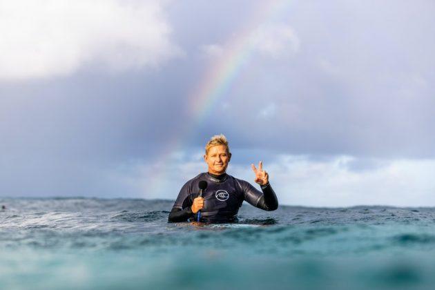 Strider Wasilewski, Billabong Pipe Masters 2020, North Shore de Oahu, Havaí. Foto: WSL / Brent Bielmann.