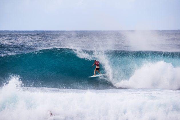 Tyler Wright, Billabong Pipe Masters 2020, North Shore de Oahu, Havaí. Foto: WSL / Brent Bielmann.