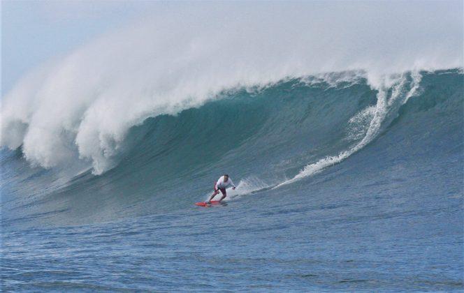 Ron Barron, Avalanche, North Shore de Oahu, Havaí. Foto: Thiago Miara / Martin Sanches.