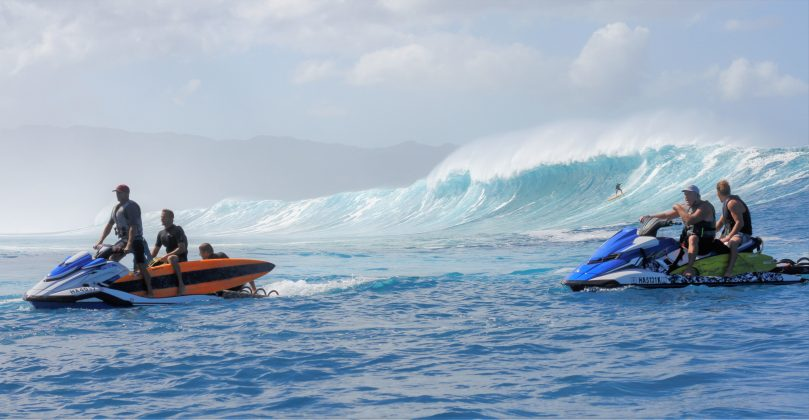 Himalayas, North Shore de Oahu, Havaí. Foto: Thiago Miara / @jjphotos_hawaii.