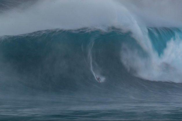 Yuri Soledade, Jaws, Maui, Havaí. Foto: Aaron Lynton.