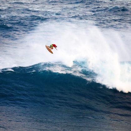 Yuri Soledade, Jaws, Maui, Havaí. Foto: Stu Soley.