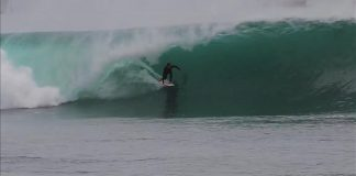 Cabo Blanco on fire