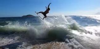 Lucas Fink acrobático
