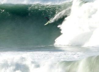 Swell viaja o Pacífico