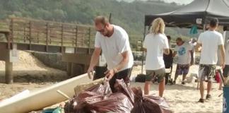 Mutirão contra o lixo