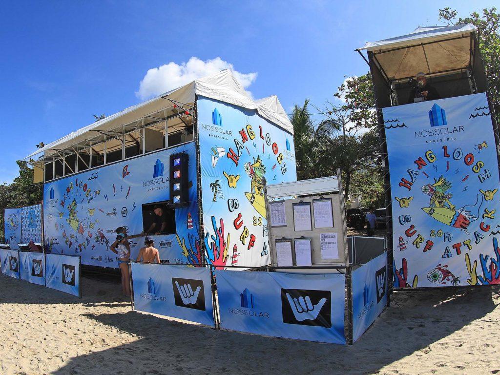 Hang Loose Surf Attack é o Circuito de base mais tradicional do país.
