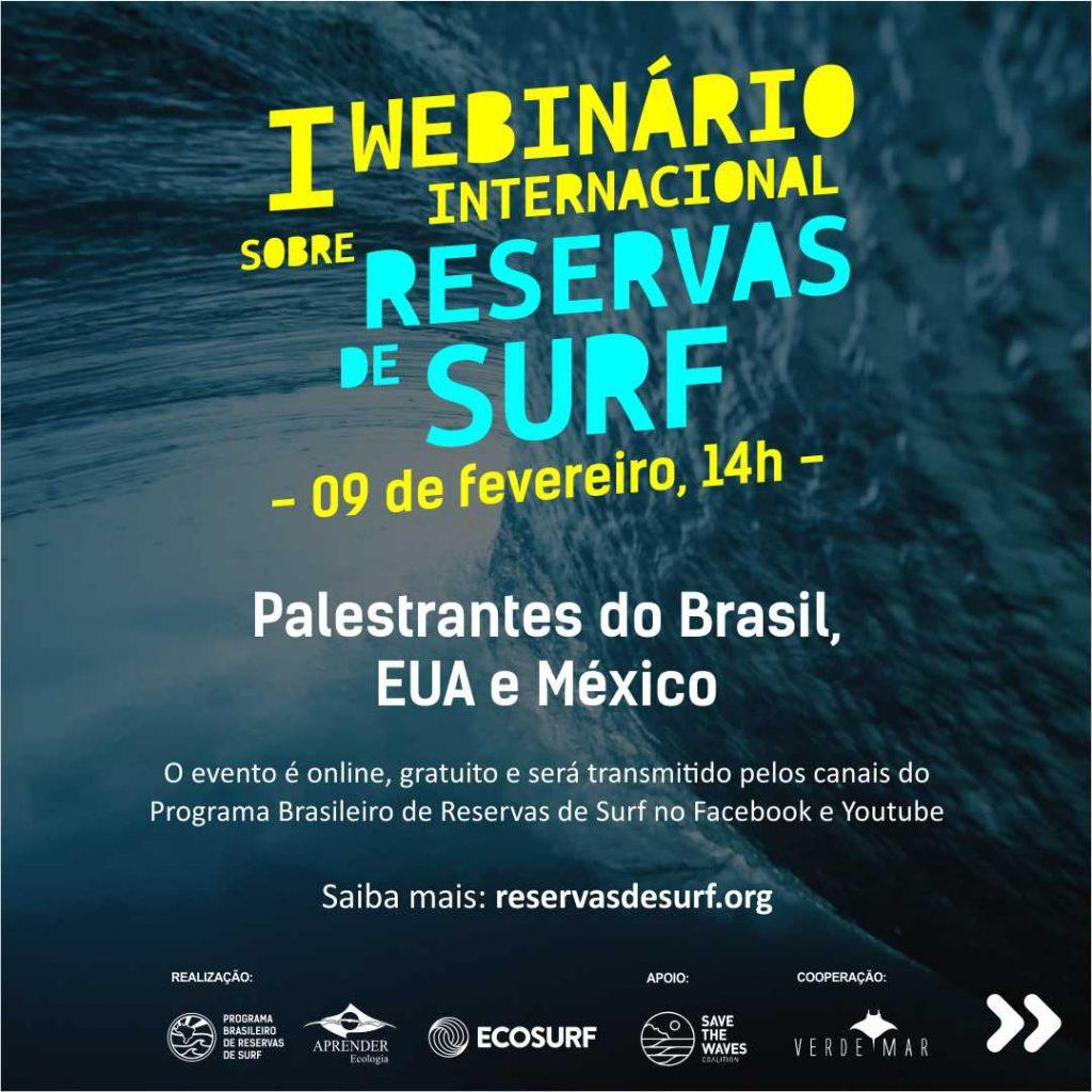 Programação traz time de pesquisadores e profissionais brasileiros que atuam nas áreas da conservação costeira e marinha, governança e comunicação ambiental.