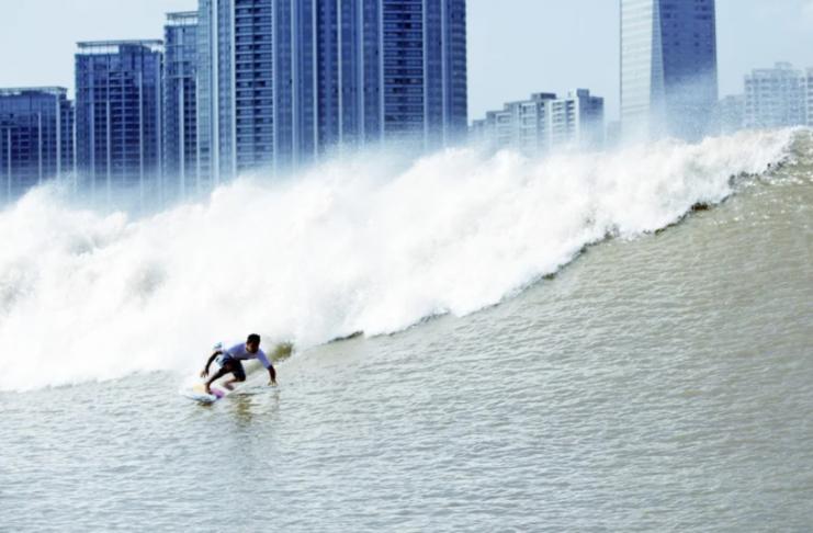 China, um dos berços do surfe?