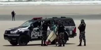 Polícia apreende pranchas