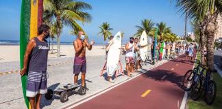 Surfistas pedem liberação