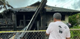 Incêndio destrói casa