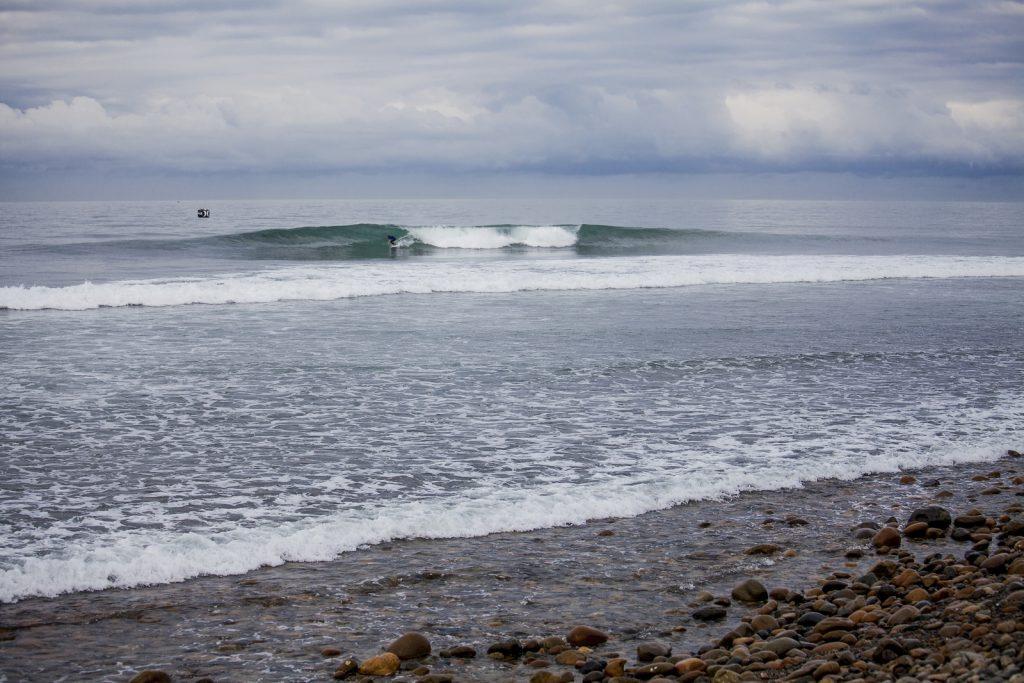 Trestles é uma onda divertida e propicia bons momentos a surfistas comuns.