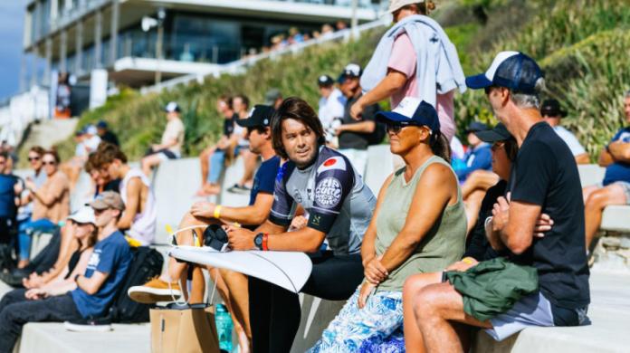 Mãe de Connor O'Leary também já representou o Japão em competições de surfe.