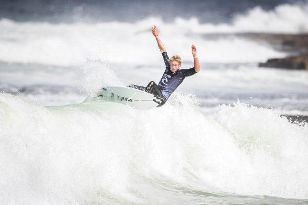 Ethan Ewing, Newcastle Cup 2021, Merewether Beach, Austrália. Foto: WSL / Dunbar.