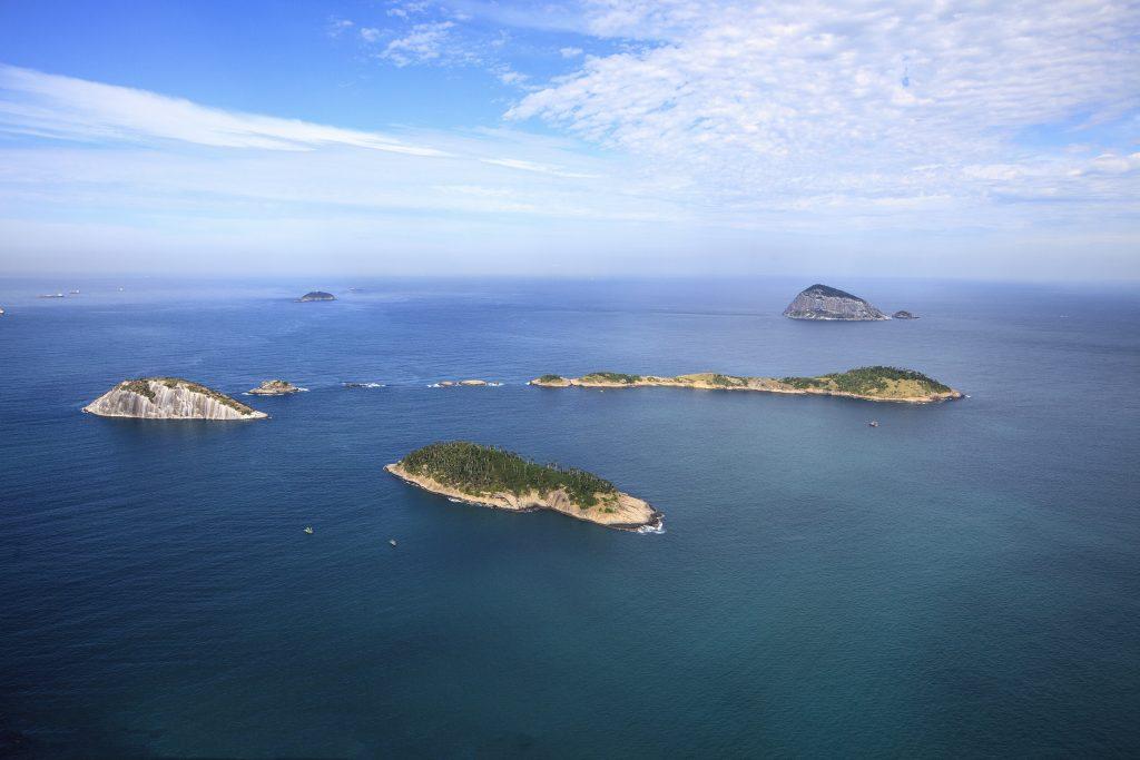 Ilhas são importantes locais de construção de ninhos do Atlântico Sul.