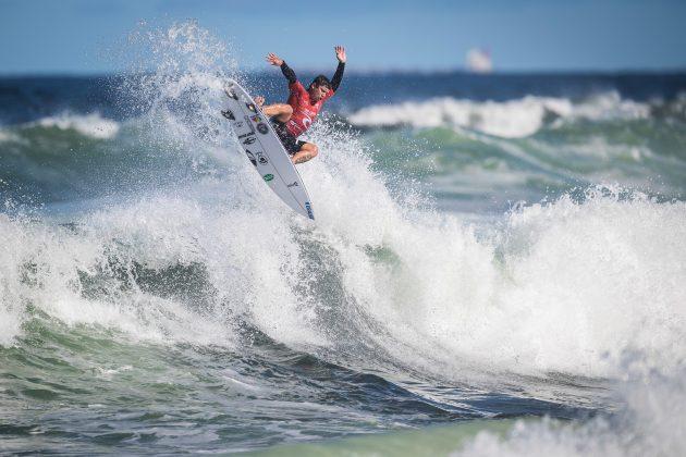 Peterson Crisanto, Newcastle Cup 2021, Merewether Beach, Austrália. Foto: WSL / Dunbar.