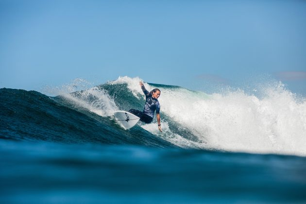 Keely Andrew, Newcastle Cup 2021, Merewether Beach, Austrália. Foto: WSL / Miers.