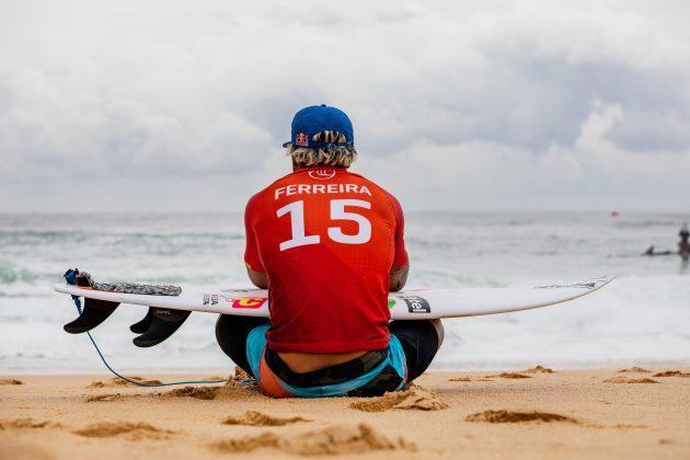 Italo Ferreira, Newcastle Cup 2021, Merewether Beach, Austrália. Foto: WSL / Cait Miers.