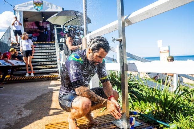 Italo Ferreira, Newcastle Cup 2021, Merewether Beach, Austrália. Foto: WSL / Miers.