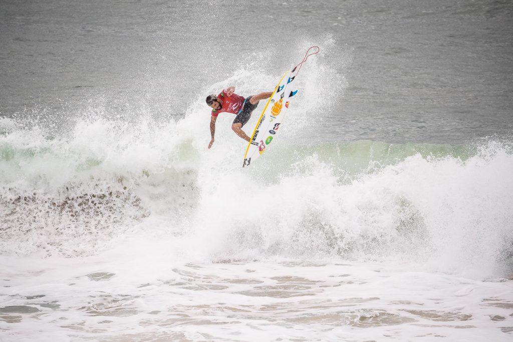 Italo venceu a etapa de Merewether Beach, este ano na Austrália.