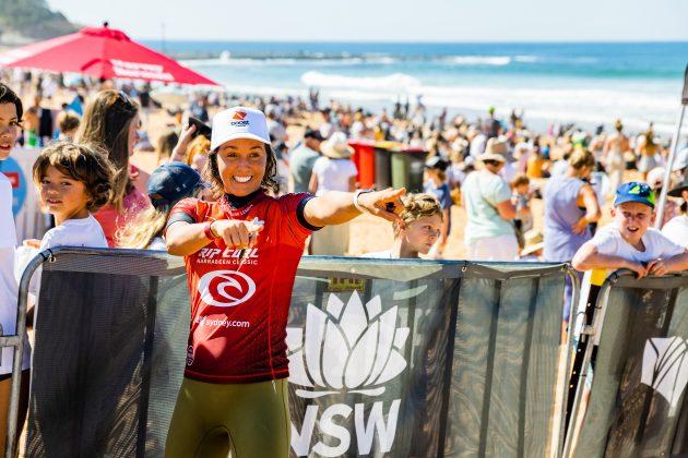Sally Fitzgibbons, Narrabeen Classic 2021, Sidney, Austrália. Foto: WSL / Dunbar.