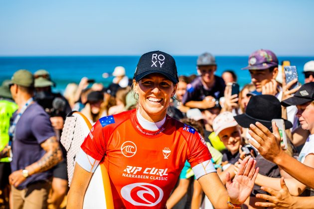 Stephanie Gilmore, Narrabeen Classic 2021, Sidney, Austrália. Foto: WSL / Miers.