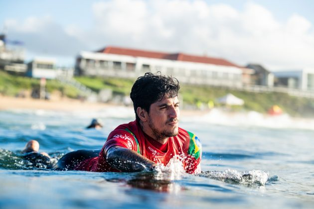 Gabriel Medina, Newcastle Cup 2021, Merewether Beach, Austrália. Foto: WSL / Dunbar.